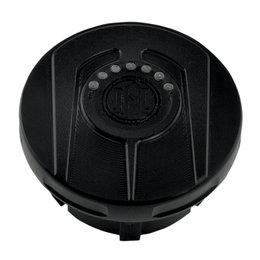Performance Machine Scallop Fuel Gauge Gas Cap Harley Black Ops 0210-2025SCA-SM Black