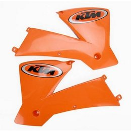 Orange Acerbis Radiator Scoops For Ktm 125 350 450 Sx Xc