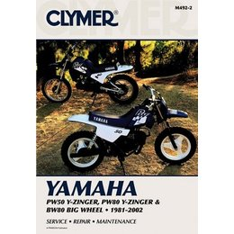Clymer Repair Manual For Yamaha PW50 PW80 BW80 81-02