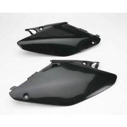 UFO Plastics Side Panels Black For Honda CR 125R 250R 02-07