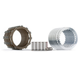 Hinson FSC Clutch Plate And Spring Kit For Honda CRF450R CRF450RX FSC789-7-0616 Unpainted