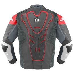 Red Icon Mens Hypersport Prime Leather Jacket 2014