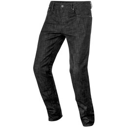 Alpinestars Mens Copper Armored Denim Riding Pants Black
