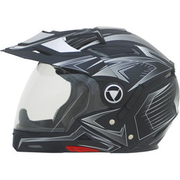 AFX Mens FX-55 7 In 1 Crossover Multis Helmet Black