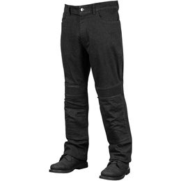 Speed & Strength Mens Rage With The Machine Armored Leather/Denim Riding Pants Black