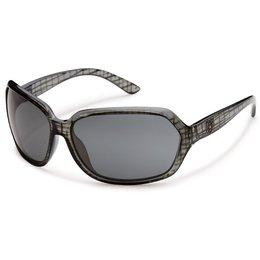 Black Grid/grey Suncloud Womens Empress Sunglasses With Polarized Lens 2014 Black Grid Grey