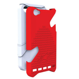 White, Red Alpinestars Bionic Case For Iphone 4 White Red
