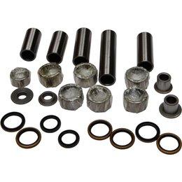 All Balls Swing Arm Linkage Bearing And Seal Kit For Kawasaki KX125 KX250 Unpainted