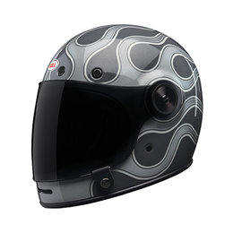 Bell Powersports Special Edition Bullitt Chemical Candy Full Face Helmet Grey