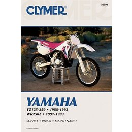 Clymer Repair Manual For Yamaha YZ 125-250 WR250Z 88-93