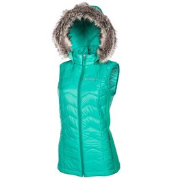 Klim Womens Arise Snowmobile Insulated Textile Vest Green