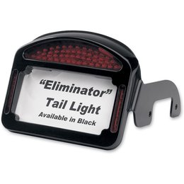 Black Cycle Visions Eliminator Led Taillight License Plate For Hd Fxd 00-10
