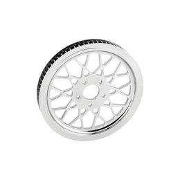 Ride Wright Mesh Rear Pulley 70T X 1-1/2 Inch Aluminum For Harley Big Twin 84-99