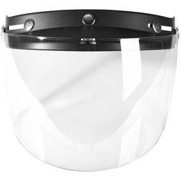Troy Lee Designs Open Face Helmet Replacement Visor Shield Black