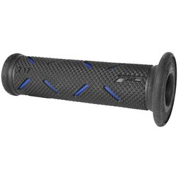 Black/blue Pro Grip 717gp Duo Density Road Race Grip 122mm Black Blue