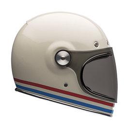 Bell Powersports Bullitt Stripes Full Face Helmet White