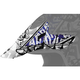 Blue Arai Replacement Visor For Vx-pro3 Pride Helmet