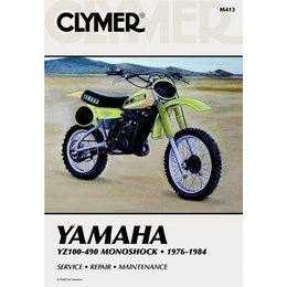 Clymer Repair Manual For Yamaha YZ100-490 Monoshock 76-84