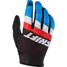 Shift Racing Mens Whit3 Label Air Textile Gloves Black