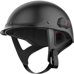 Sena Cavalry Bluetooth Half Helmet Black