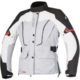 Alpinestars Womens Stella Vence Drystar Armored Textile Jacket Grey