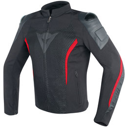 Dainese Mens Mig Armored Textile Jacket Black