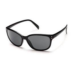 Black/grey Suncloud Womens Flutter Sunglasses With Polarized Lens 2014 Black Grey