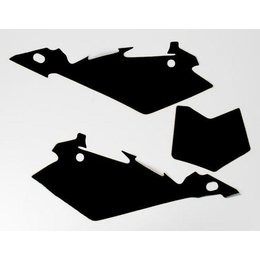 N-Style Precut Number Plate Black For Husqvarna CR/TC/TE/SMR/WR