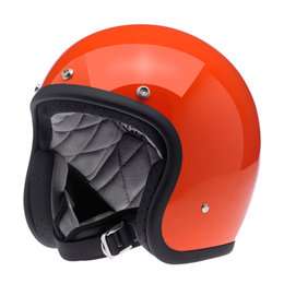 Biltwell Bonanza Open Face Helmet Orange