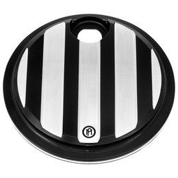 Performance Machine Drive Fuel Door For Harley Contrast Cut 0200-2005DRV-BM Black