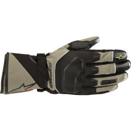 Alpinestars Mens Andes Touring Outdry Textile Gloves Green