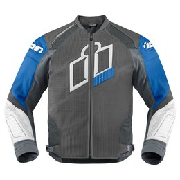 Blue Icon Mens Hypersport Prime Leather Jacket 2014