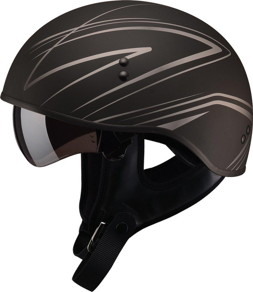 8495 Gmax Gm65 Torque Naked Half Helmet 1061453-8943