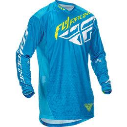 Fly Racing Mens Lite Hydrogen Jersey Blue