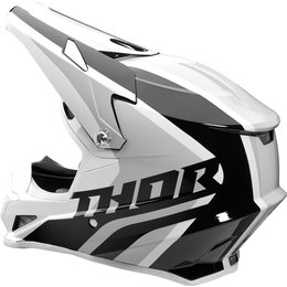 Thor Sector Ricochet DOT Approved MX Motocross Riding Helmet With Visor White