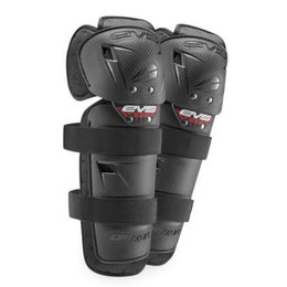 EVS Mini Option Knee/Shin Guards Pair Black