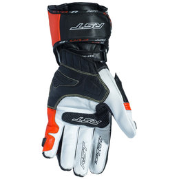 RST Mens TracTech EVO III Race CE Approved Leather Gloves White