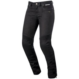 Alpinestars Womens Stella Riley Armored Denim Riding Pants Black
