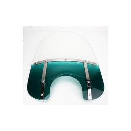 Memphis Shades Fat 17 Windshield 9 Inch Cutout Teal