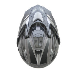 AFX Mens FX-55 7 In 1 Crossover Multis Helmet Grey
