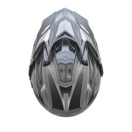 AFX Mens FX-55 7 In 1 Crossover Multis Helmet Grey