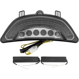 BikeMaster Integrated LED Taillight For Yamaha Smoke TZY-328-INT-S Unpainted