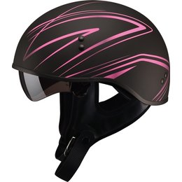 GMAX Womens GM65 Torque Naked Half Helmet Black