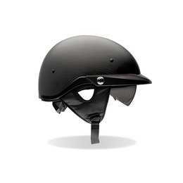 Carbon Matte Bell Powersports Mens Pit Boss Half Helmet 2014