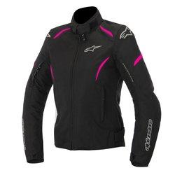Black, Pink Alpinestars Womens Stella Gunner Waterproof Textile Jacket 2015 Black Pink
