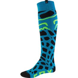 Fox Racing Mens Coolmax Grav Thin Socks Blue