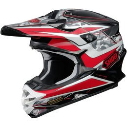 Shoei VFX-W Turmoil DOT Approved Motocross MX Helmet Red