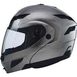 Titanium Gmax Gm54s Modular Helmet