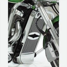Chrome Show Celestar Radiator Grille For Honda Vtx1800
