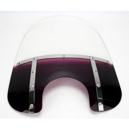 Memphis Shades Fat 17 Windshield 9 Inch Cutout Purple